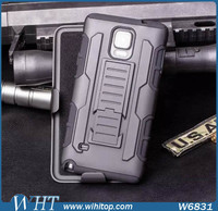 Heavy Duty Compact Armor Case for Samsung Galaxy Note 4 with Holster