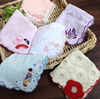 high quality 100 cotton embroidered vintage handkerchief