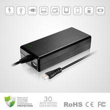 notebook power supply 90W universal Laptop AC Adapter, universal laptop power adapter, universal power supply