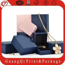 2015 Wholesale New Custom paper jewelry box &jewelry box&packaging jewelry box