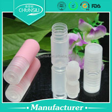 sport perfume ,empty cosmetic deodorant container plastic roll on bottles roller ball