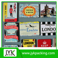 Promotion flat paper fridge magnet sticker / Cheap popular promotional gifts advertising custom fridge magnets