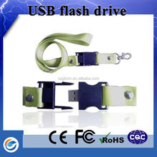 Chinese manufacturers hand band usb flash drive with gift box