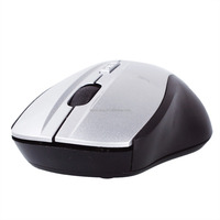 2015 High quality cheap price 2.4GHz digital wireless transmission Optical 800-1200 DPI Mouse(Silver)