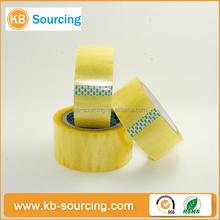 china manufacturer transparent adhesive bopp tape / colorful printed header card opp/ bopp bag with self adhesive film