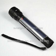 STF02 Aluminum Alloy Solar 7 pcs Led solar torch flashing led lantern
