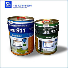 911 High Flexible Waterproofing Polyurethane Roof Paint