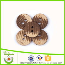 new arrival lastest design all types of coconut buttons decorative coconut buttons for clothing decoration