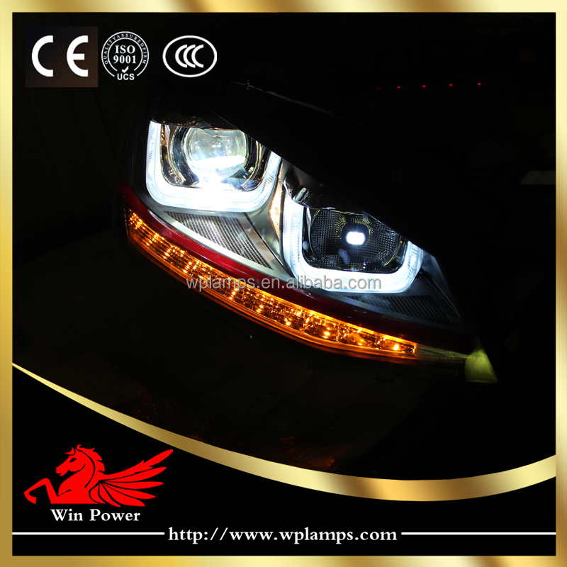 wholesale upgrade led headlight for vw volkswagen golf mk7 gti headlight led drl led turn light. Black Bedroom Furniture Sets. Home Design Ideas