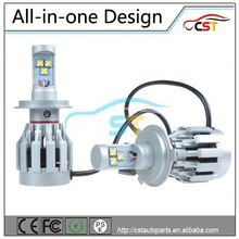 All-in-one CREE LED Headlight H4 PSE CE RoHS FCC approved (LED Headlamp) all in one hid