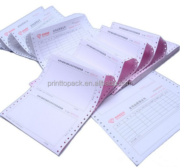Carbonless Paper Invoices Carbonless Invoice Book