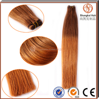 Alibaba New Products Wholesale Cheap Ombre Color Human Hair Weft