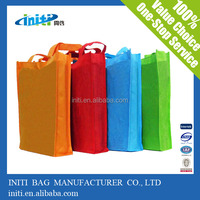 High quality custom fashionable non woven brand shopping bags