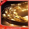 Flash led light IP65 12V warm white solar string light