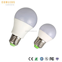 CE ROHS style energy saving e27 7w led lighting bulb