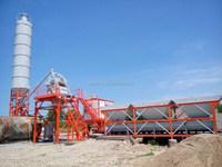 concrete batching plant HZS50 with capacity 50m3/h, precast concrete mixer plant for sale