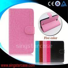wholesale cell phone cover wallet with card slots stand flip case for Casper Via 2 mini