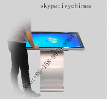 Stylish Design 47 Inch full hd 1920x1080p borne interactive touch kiosk