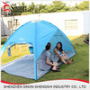 blue 2 person custom automatic pop up tent for becch