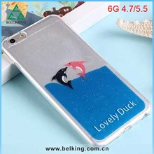 Cute Dolphin Soft TPU Case For iPhone 6/6 Plus, For iPhone 6 Sea Animal TPU Cover Cases