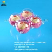 discount superior plastic apple container large four Count