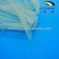 UL approval silicon rubber tubing in clear color with high quality