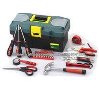 Kit de herramienta de mano del hogar de plástico 42pcs