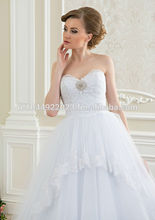 la princesa vestido de novia de estilo europeo de barcelona