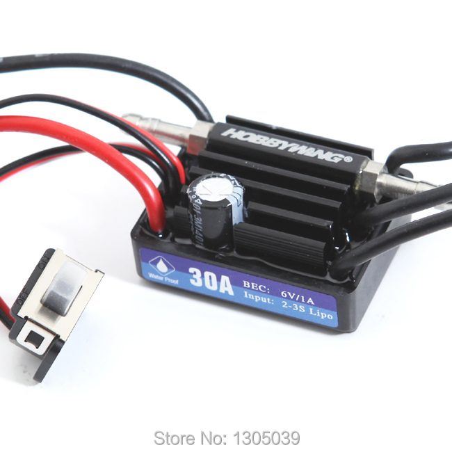 New HobbyWing SeaKing V3 30A BL Motor ESC 6V/1A BEC for RC R/c Racing Boat