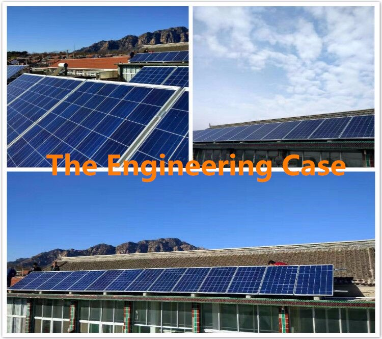 1kw 2kw 3kw Corrugated Roof Solar Panels Stand Alone
