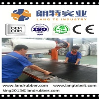 Qualified Conveyor Belt For Building Construction With Low Maintenance Cost