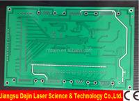 electronics manufacturing factory fiber laser marking engraving cutting machine