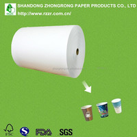 180~300g PE coated paper cup raw materials