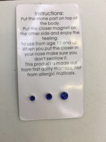 3mm crystal Fake Magnetic Nose ear lip piering