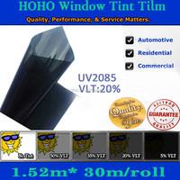 Wholesale 152x3000cm Car self adhesive Window Tinting film solar side window protection film