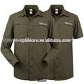 De color verde oliva de secado rápido de doble- propósito chaqueta militar táctica uniforme de chaqueta para los hombres