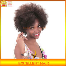 beautiful and fashionable very long wholesale non lace afro kinky human hair wigs