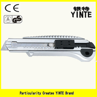 China manufacture pocket-size utility knife multifunction cutter with New ABS utility knife multitool