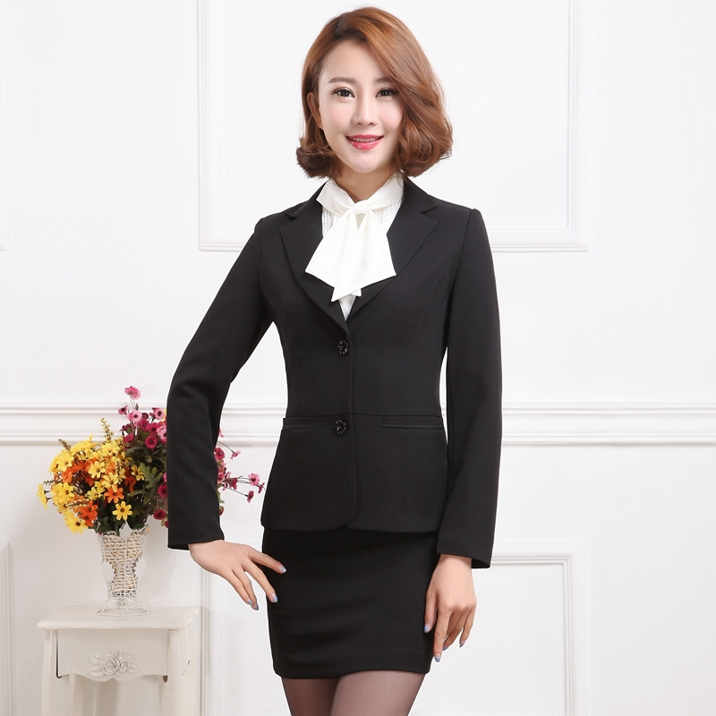 Luxury  Gem Colors Skirt Suits Are As Popular As Pant Suits Trouser Suits