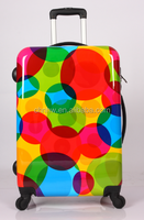 COLORFUL DOT ABS PC LUGGAGE