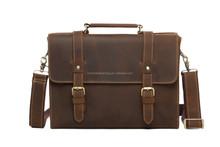 Crazy Horse Leather Shoulder Bag