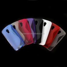 S Line TPU Gel Soft Skin Case Cover For MOTO G2 XT1063