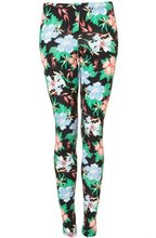 2012 nice flower printed leggings pants for women and lady