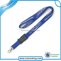 best quality promotional polyester custom id card holder student lanyard