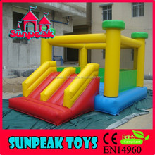 COM-137 Bouncer With Small Slide Inflatable Rental