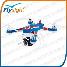 H1513 2015 Idea Product Professional Support GPS Model Real Time FPV Rc Drone Quadcopter Flysight F350 Drone Combo