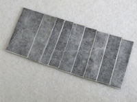 Quality 42mm activated carbon felt for air filter