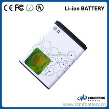 Super quality 890mAh BL-5B rechargeable li-ion cell phone battery for Nokia