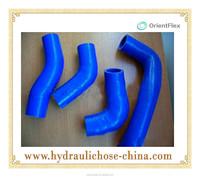 silicon rubber reinforced hose manguera silicona