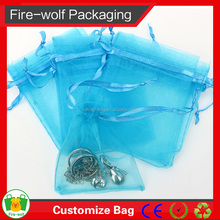 2015 Canton Fair Hot Sale High Quality Organza Wine Bag For Department Store